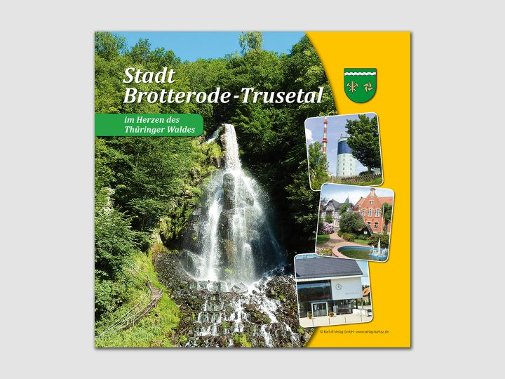 Broschüre Brotterode-Trusetal